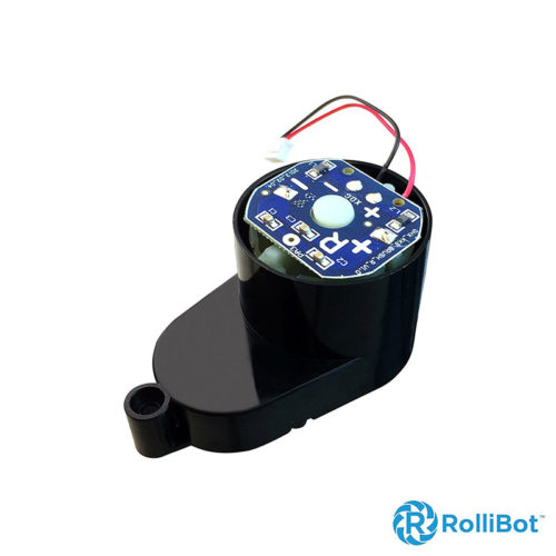Replacement-Rollibot-BL618-Left-Brush-Motor-Installs-On-Left-Side,-PCB-Labeled---right