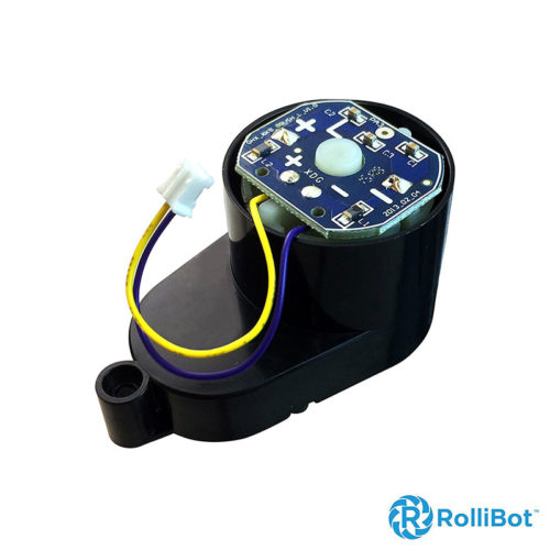 Replacement-Rollibot-BL618-Right-Brush-Motor-Installs-On-Right-Side,-PCB-Labeled-L