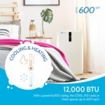 RolliCool COOL310-19 is a powerful 12,000 BTU and is ideals for rooms up to 600 sq ft