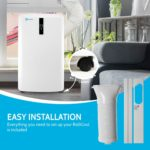 RolliCool COOL310-19 is an easy-to-install portable AC unit
