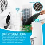 RolliCool COOL310 portable ac unit comes with high-efficiency filters