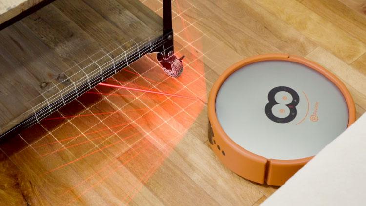 robot vacuum cleaning between corners