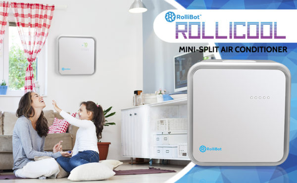 RolliCool® - The Perfect Mini Split Quiet Ductless Air Conditioner