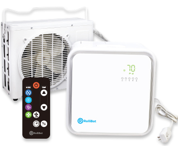 RolliCool® - The Perfect Mini Split Quiet Ductless Air Conditioner