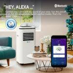 ROLLICOOL Alexa-Enabled Smart Portable AC 10,000BTU 4