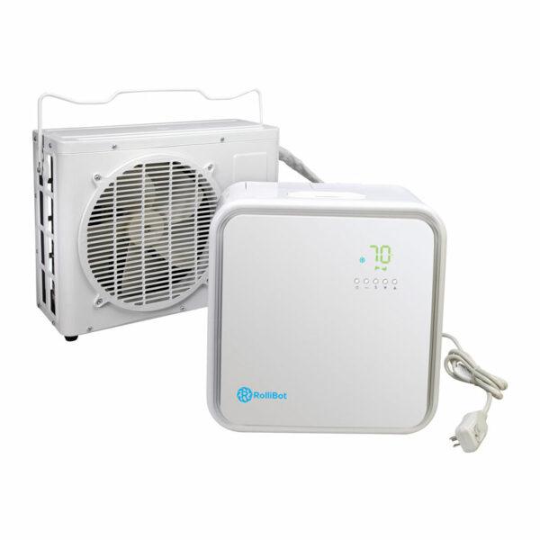 Ductless ac mini split ac room air conditioner the for Small 1 room air conditioner