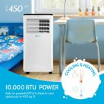 RolliCool Cool208 Portable Air Conditioner with Cooling and Heating